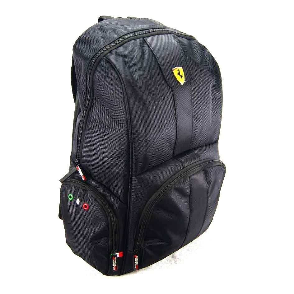 e4fd40c67 Mochila Ferrari Stradale Preto ref 425610-6 Foroni