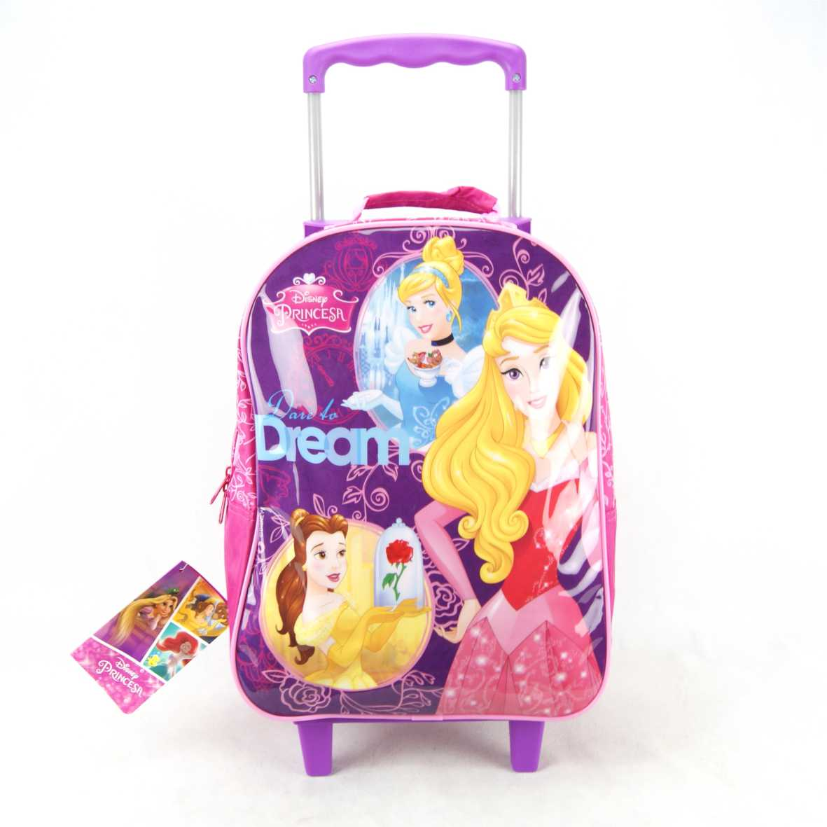 Mochila de Rodinha Princesas Disney Dermiwil 30421