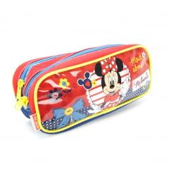 Estojo Escolar Duplo Minnie 18X Disney 064999