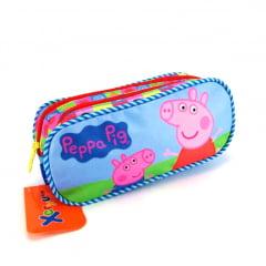 Estojo Escolar Peppa Pig Duplo ref 5545 Xeryus