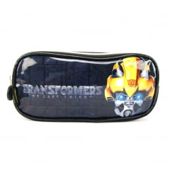 Estojo Escolar dos Transformers Bumblebee Duplo Pacific 933M14