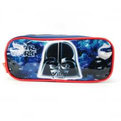 Estojo Escolar Star Wars Duplo Darth Vader 18X Sestini 065096