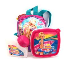 Lancheira Barbie Vida de Sereia ref 062354 Sestini