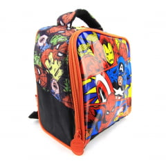 Lancheira Marvel Comics Vingadores Xeryus Kids 7064 - Térmica Infantil