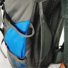 Mochila Camping Cargueira Discovery Adventures Azul 60 litros ref MS45358DV Luxcel