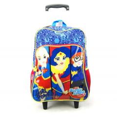 Mochila de Rodinha DC Super Hero Girls 18M Plus 065105 Sestini