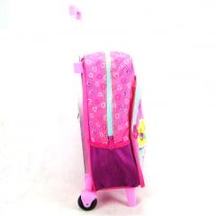 Mochila de Rodinha Judy Happy Day ref 063880 Sestini - Mochilete Infantil Escolar