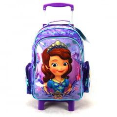 Mochila de Rodinha Princesinha Sofia Disney Junior ref 49084 DMW