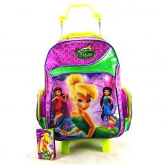 Mochila de Rodinha Tinker Bell Fadas Disney ref 37077 Dermiwil
