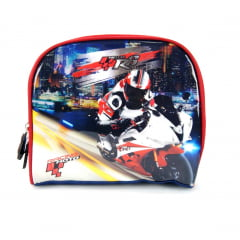 Lancheira Moto Racing Vermelho Luxcel LA32093MT