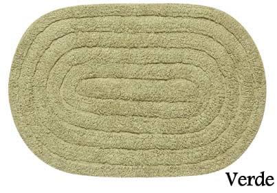 Tapete Oval de algodão Aroeira - Bossa Nova - 40X60