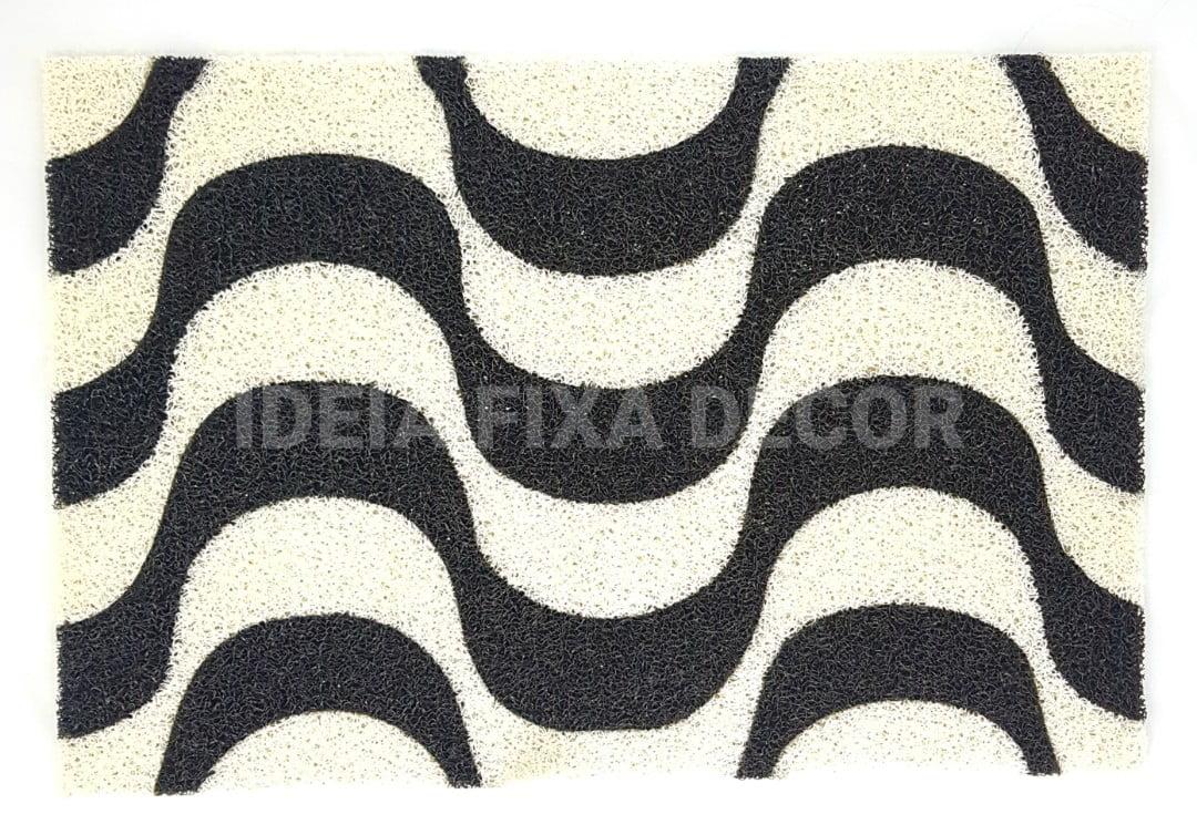Capacho Retangular - Fibra de PVC - Copacabana - 40X60 cm