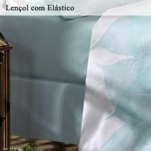Jogo de Cama Santista - Casal - 200 fios - Leaf