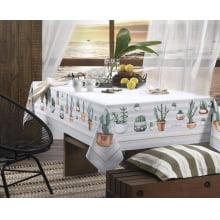Toalha de Mesa Karsten Antiformiga - Retangular - 6 Lugares - Mila - 140X210