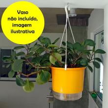 Alça Plástica Para Pendurar Vasos Autoirrigáveis (para todos os tamanhos)