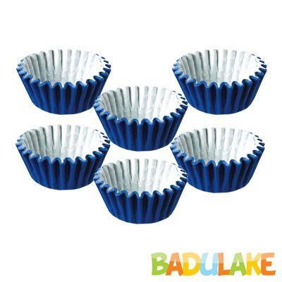 Forminha Lisa de Papel Número 5 Azul Royal - 100 unidades