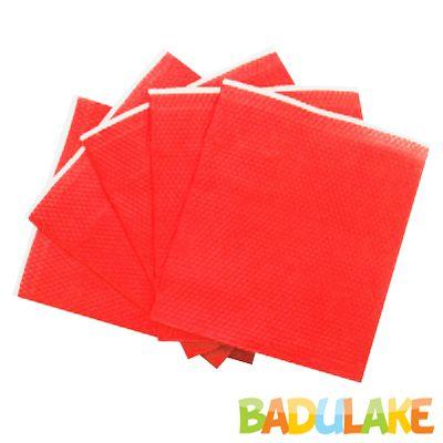 Guardanapo de Papel Liso 20x21 Vermelho - 50 unidades