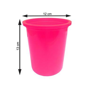 Balde Redondo Médio Pink