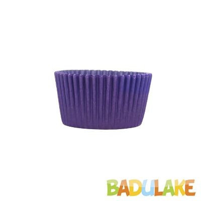 Forminha Cupcake Liso Lilás - 45 unidades