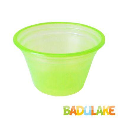 Pote Descartável 150 ml Verde Neon - 50 unidades