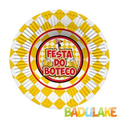 Prato Festa do Boteco - 8 unidades