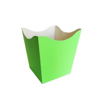 Cachepot Pequeno Verde Neon - 10 unidades