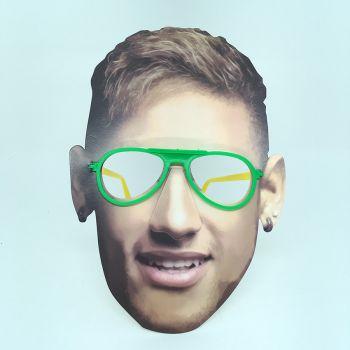 Óculos Máscara Neymar de Papel