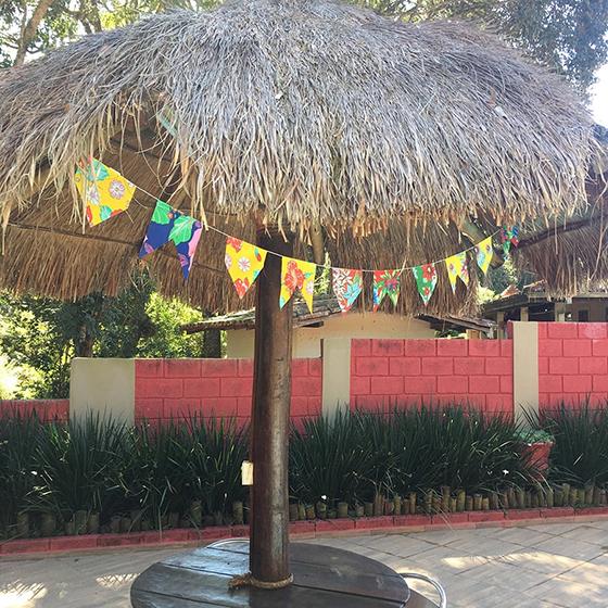 Bandeirinha Festa Junina Tecido - 2,6 metros