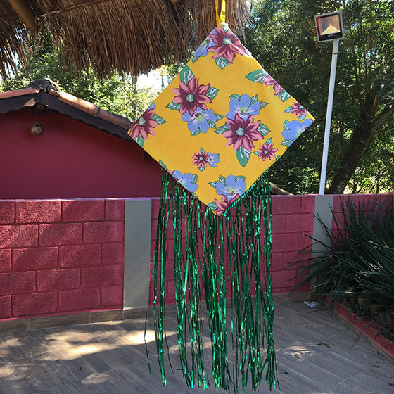 Pipa Decorativa Junina
