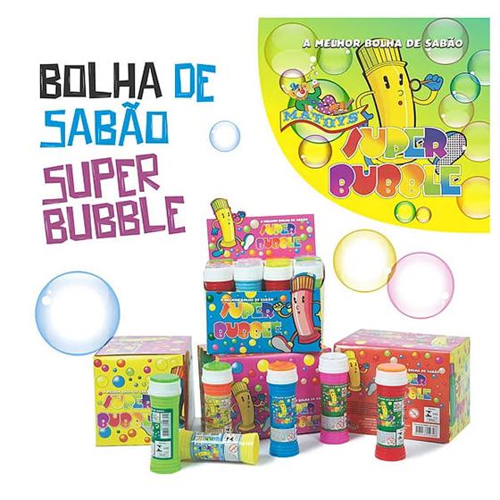Bolhas de Sabão Super Bubble
