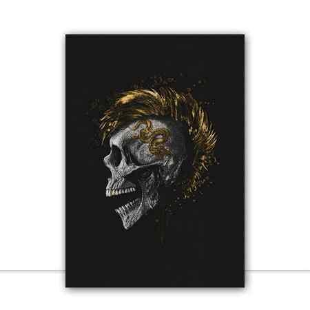 Skull Dragon por GoldBoy