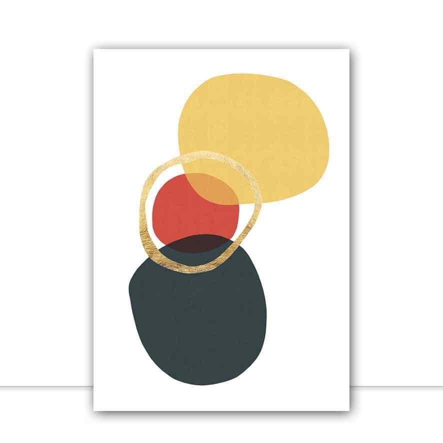 Quadro Formas Abstratas I por Vitor Costa