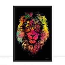 Lion Multicolours por Joel Santos