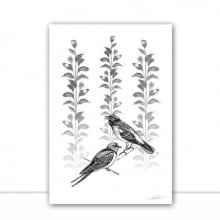 Silk Birds IV por Joel Santos
