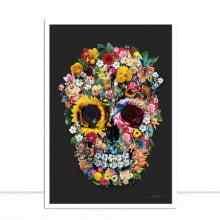 Skull Flowers III por Joel Santos