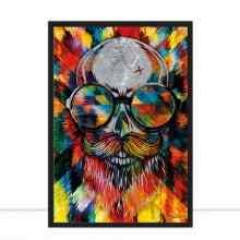 Skull Explosion Colours II por Joel Santos