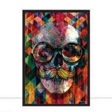 Skull Explosion Colours por Joel Santos