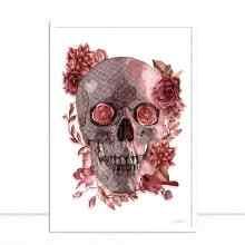 Skull Flowers por Joel Santos
