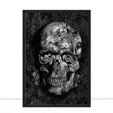 Skull Black I por Joel Santos