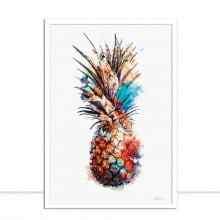 Pineapple Draw Art por Joel Santos