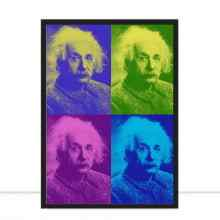 Einstein Pop Art por Herisson F C