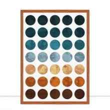 Quadro Círculos coloridos I por Vitor Costa
