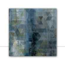 Geometric Blue I por Juliana Bogo