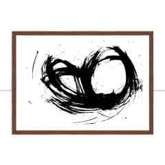 Quadro Black Stain III por Juliana Bogo