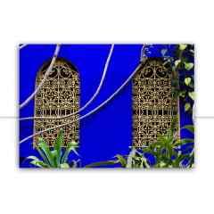 Quadro Blue Marrakech 2 por Mafe Romero