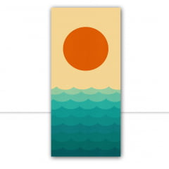 Quadro Praia ao pôr do sol II