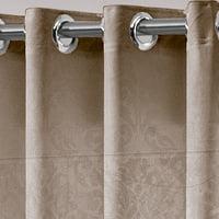 Detalhe cortina devore luxor