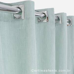 Cortina Anatex Ipê 2.00 x 1.70m Verde Chá