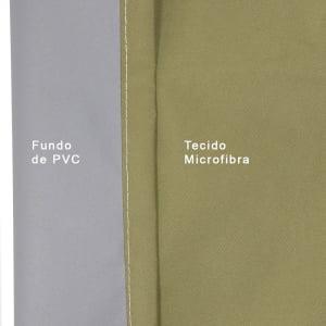 Tecido Blackout Microfibra PVC acoplado ao tecido - 1,40m de largura