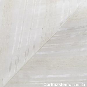 Tecido Voil Ana Lúcia Branco Largura 3m